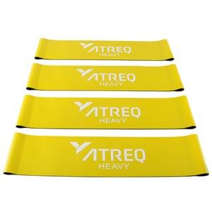 ATREQ Heavy Mini Loop Band 15-18kg 4 Pack