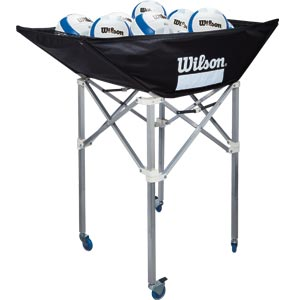 Wilson Indoor Stand Up Ball Cart
