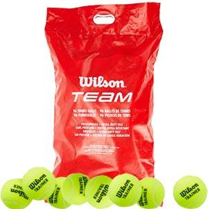 Wilson Team Trainer Tennis Ball 96 Pack