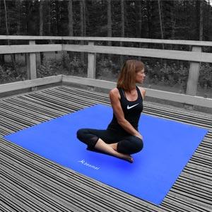 Beemat 6ft Square Yoga Mat