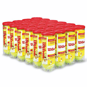 Wilson Championship Extra Duty Tennis Ball 96 Pack