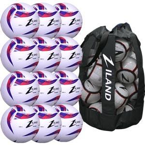 Ziland Pro Trainer Netball 12 Pack White