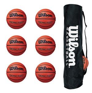 Wilson Reaction Basketball 6 Pack