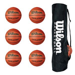 Wilson Evolution Basketball 6 Pack
