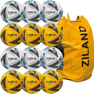 Mitre Ultimatch Match Football Assorted 12 Pack