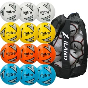 Mitre Impel Training Football Assorted 12 Pack
