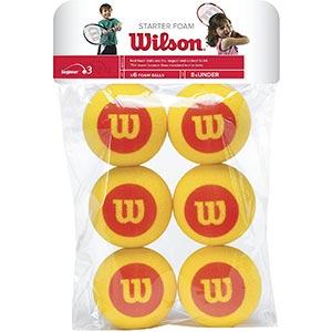 Wilson Starter Foam Balls 6 Pack