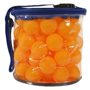 Table Tennis Balls 72 Pack Orange