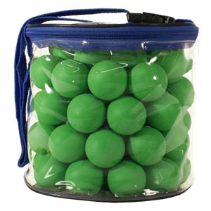 Table Tennis Balls 72 Pack Green