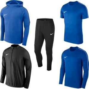 Nike Team 18 Performance Pack Royal Blue/Black