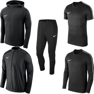 Nike Team 18 Performance Pack Black/Black