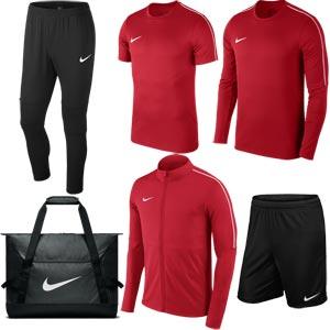 Nike Park 18 Tour Pack Red/Black