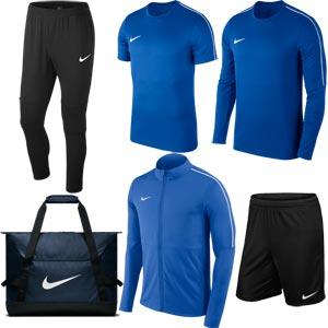 Nike Park 18 Tour Pack Royal Blue/Black
