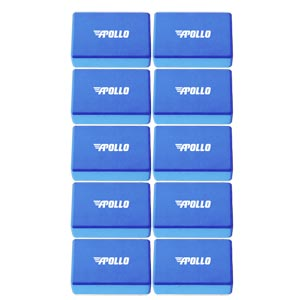 Apollo Yoga Block 10 Pack