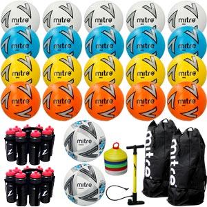 Mitre Football Equipment Pack