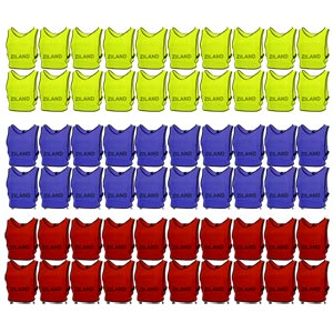 Ziland Pro Training Bib 60 Pack