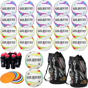 Gilbert Netball Equipment Pack