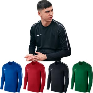 Nike Park 18 Long Sleeve Crew Assorted 4 Pack