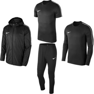 Nike Park 18 Fundamental Pack Black/Black