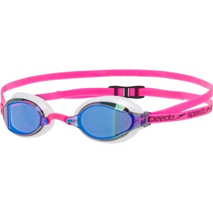 Speedo Fastskin Speedsocket 2 Mirror Swimming Goggles Ecstatic Pink/White/Blue
