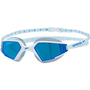 Speedo Aquapulse Max 2 Swimming Goggle White/Aqua Splash/Blue