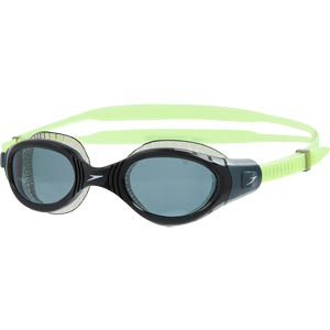 Speedo Futura Biofuse Flexiseal Swimming Goggle Bright Zest/Black/Smoke