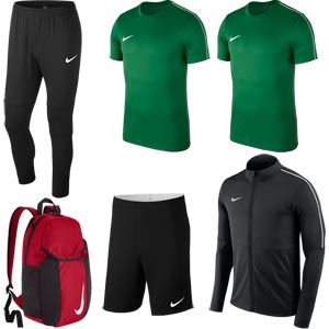 Nike Club 18 Essential Pack Green/Black
