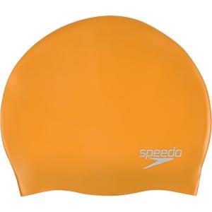 Speedo Senior Silicone Swimming Cap Pure Yellow