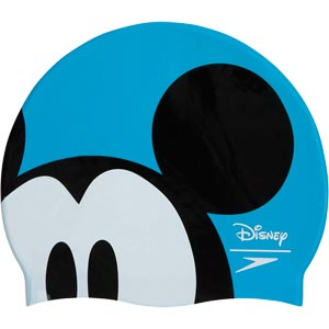Speedo Junior Disney Mickey Slogan Swimming Cap
