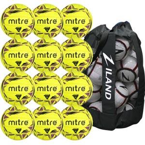 Mitre Cyclone Indoor Football 12 Pack