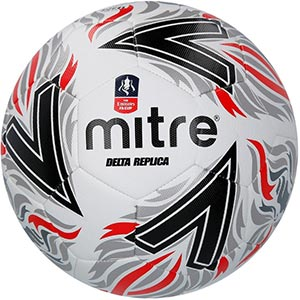 Mitre FA Cup Delta Replica Match Football