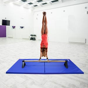 Beemat Gymnastic Floor Bar and Mat