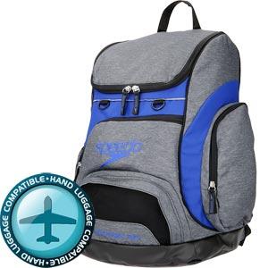 Speedo Teamster Backpack 35 Litre Heather Grey/Navy
