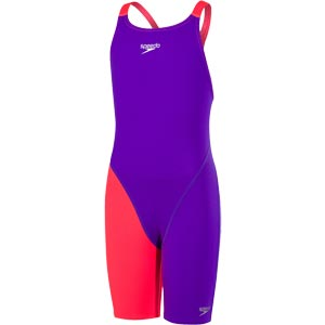 Speedo Fastskin Endurance Plus Kneeskin Royal Purple/Psycho Red