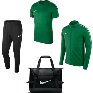 Nike Park 18 Matchday Pack Pine Green/Black