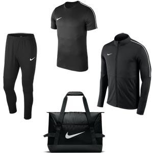 Nike Park 18 Matchday Pack Black/Black