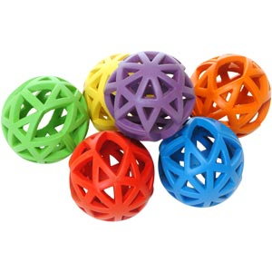 DOGM8 Dog Hole Roller Toy 6 Pack