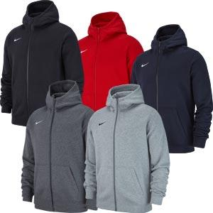 Nike Team Club 19 Junior Full Zip Hoodie