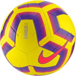 Nike Strike Team Match Football Yellow