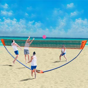 Ziland Volleyball Posts and Net Set