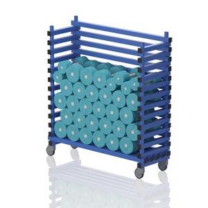 Vendiplas Aqua-Dumbbell Trolley