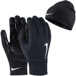 Nike Hyperwarm Player Hat + Glove Set
