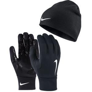 Nike Hyperwarm Football Gloves Hat Set