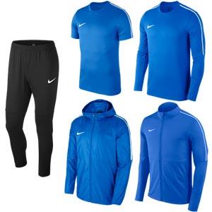 Nike Park 18 Bulk Pack Royal Blue/Black