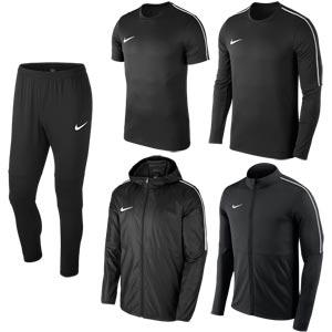 Nike Park 18 Bulk Pack Black/Black