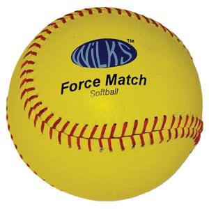 Wilks Force Match Softball