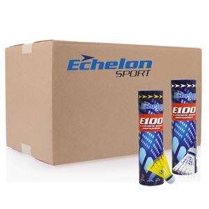 Echelon E100 Badminton Shuttlecocks 144 Pack