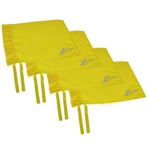 Ziland Corner Flag 4 Pack Yellow