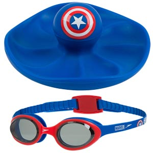Speedo Marvel Sink Toy and Goggles Set