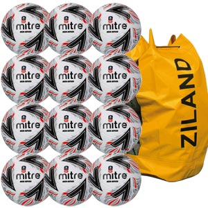 Mitre FA Cup Delta Replica Match Football 12 Pack